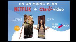 Telcel ofrece el Plan Max Play con Netflix y Claro video incluidos