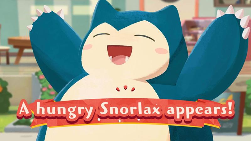 Pokémon Café Mix abre sus puertas al Snorlax en un evento especial