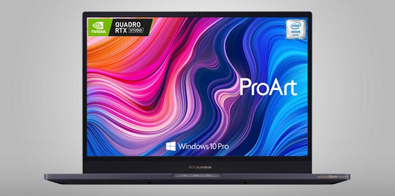 ASUS ProArt StudioBook Pro 17 (W700) llega a México