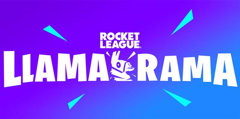 Rocket League y Fortnite se unen para el Llama-Rama