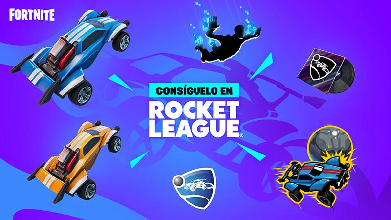 Rocket League x Fortnite Llama-Rama recompensas