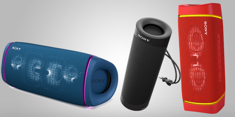 Conoce las nuevas bocinas inalámbricas Sony EXTRA BASS