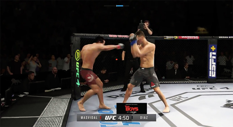 UFC 4 anuncios