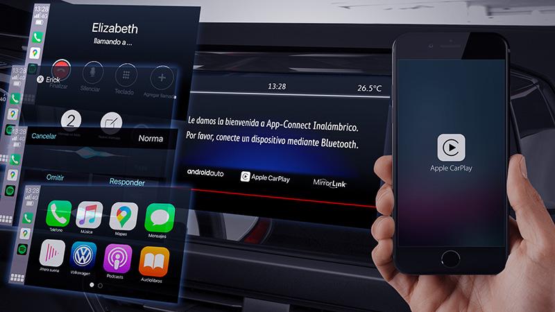 Volkswagen presenta Wireless App Connect en México