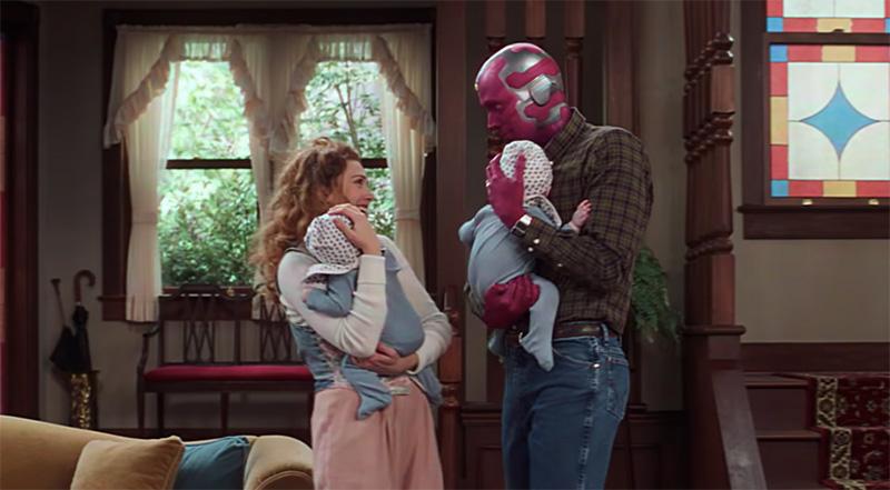 Esto dice la canción de cuna que Wanda le canta a sus bebés