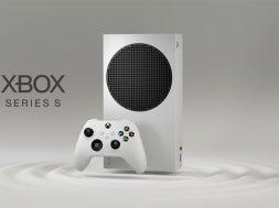 Xbox Series S con control frontal