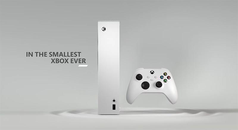 Xbox Series S con control lateral