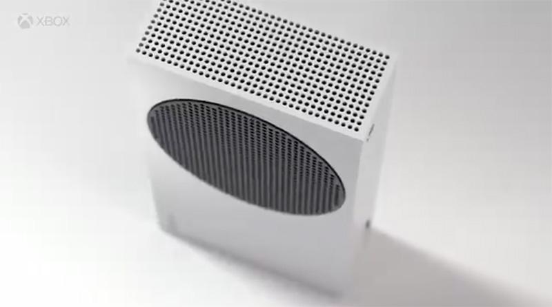 Xbox Series S filtrado diseno