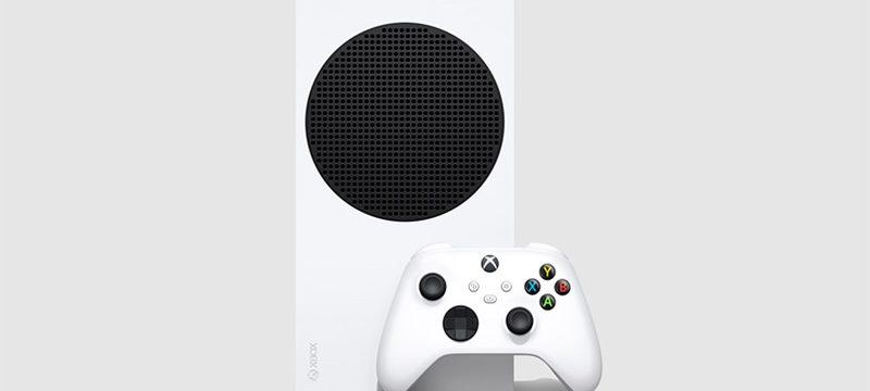 Xbox Series S frente