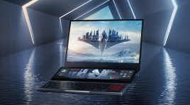 Zephyrus Duo 15 llega a Mexico con la ROG ScreenPad Plus
