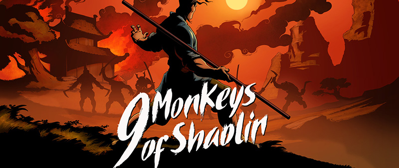9 Monkeys of Shaolin arte