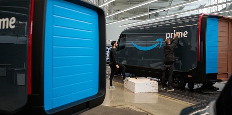 Amazon y Rivian Automotive presentan su camioneta eléctrica