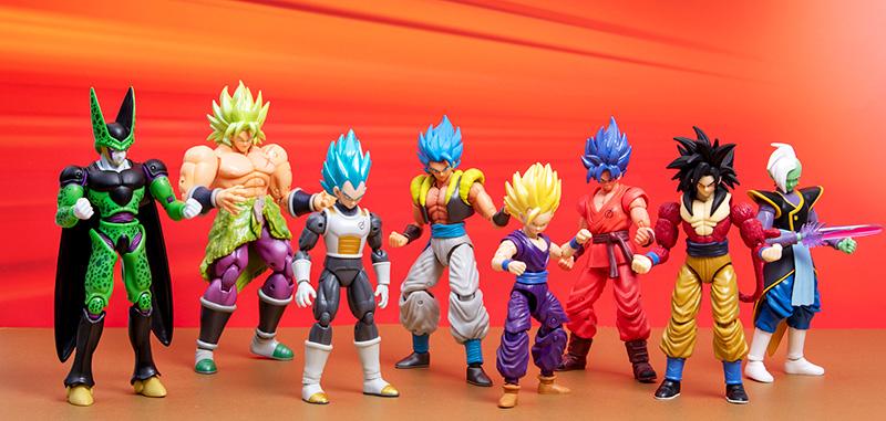 Bandai Mexico Dragon Ball figuras
