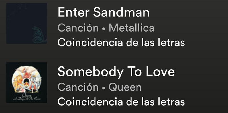 ¿Cómo buscar una canción por su letra en Spotify?