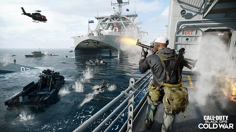 Warfare y Modern Warfare conectados con Black Ops Cold War