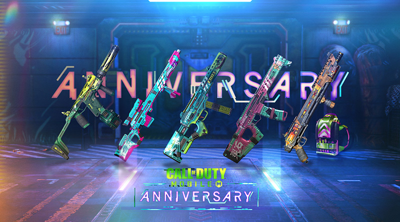 Call of Duty Mobile Anniversary Armas Neon