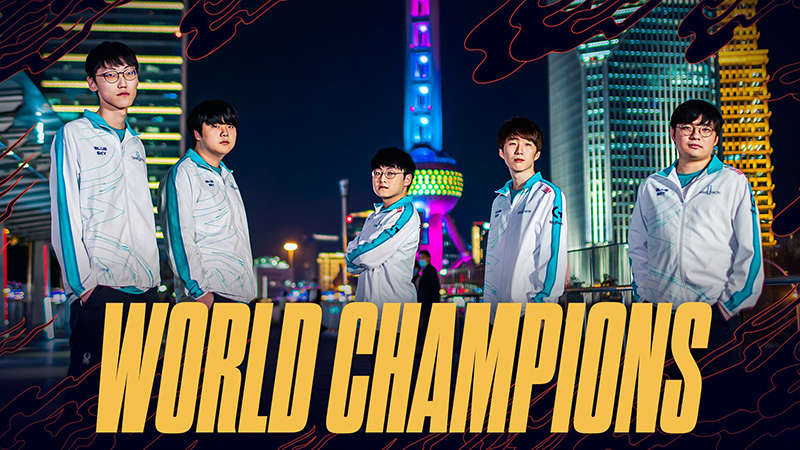 DAMWON Gaming se corona campeón en la final de Worlds 2020