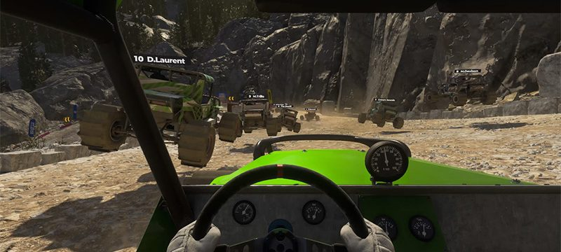 DIRT 5 Xbox Series X lodo