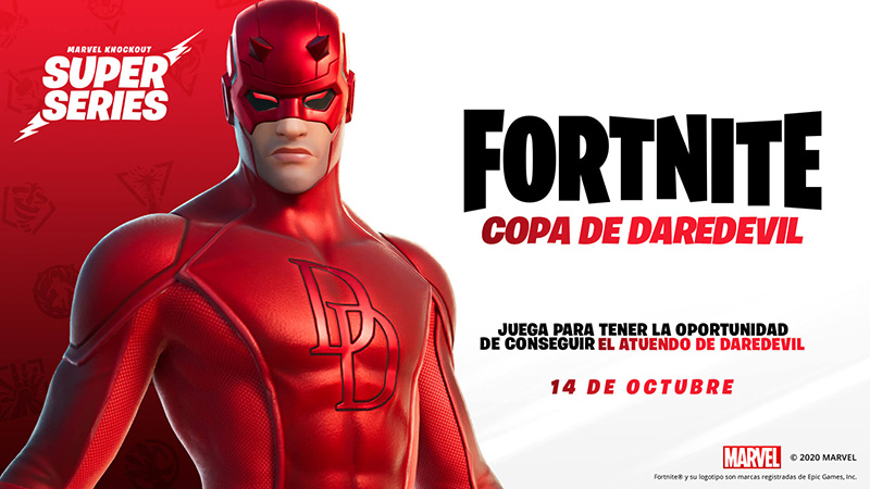 Daredevil Marvel Knockout Super Series Fortnite