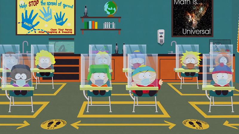 No te pierdas el Episodio Especial Pandemia de South Park