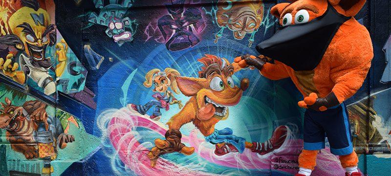 Grafiti Crash Bandicoot