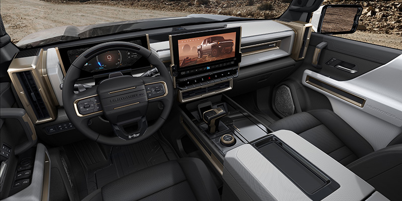 HUMMER EV Edición 1 2022 interior