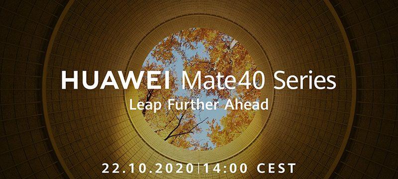 Huawei Mate 40 invitacion