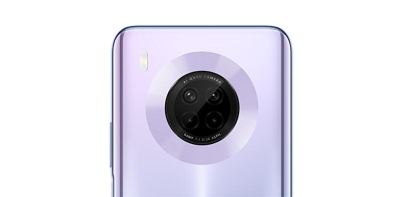 Huawei Y9a camara