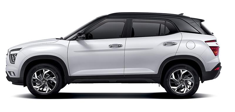 Hyundai Creta 2021 lateral