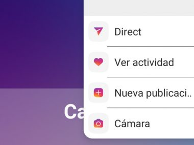 Instagram Accesos Android
