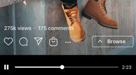 Instagram anuncia las compras en IGTV y pronto estarán en Reels