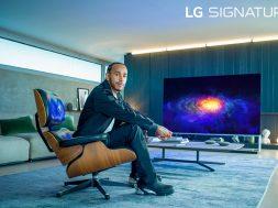 LG SIGNATURE Lewis Hamilton