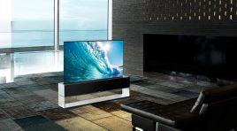 LG SIGNATURE OLED R; el primer televisor enrollable del mundo
