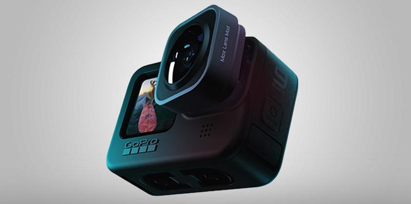 Los beneficios del lente Max Mod para GoPro HERO9 Black