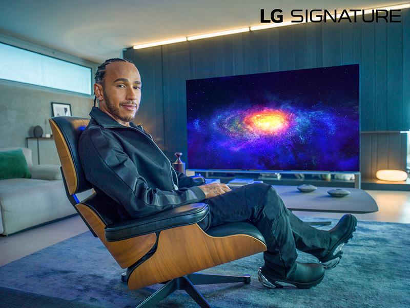 Lewis Hamilton LG SIGNATURE