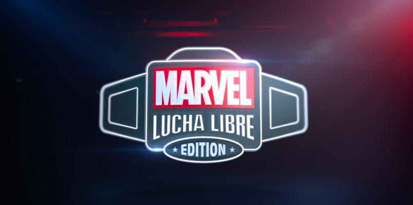 Marvel y AAA presentan luchadores inspirados en los superhéroes