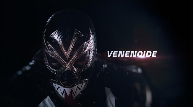 Marvel Lucha Libre Venenoide