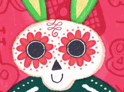 Mi Bunny wallpapers calavera