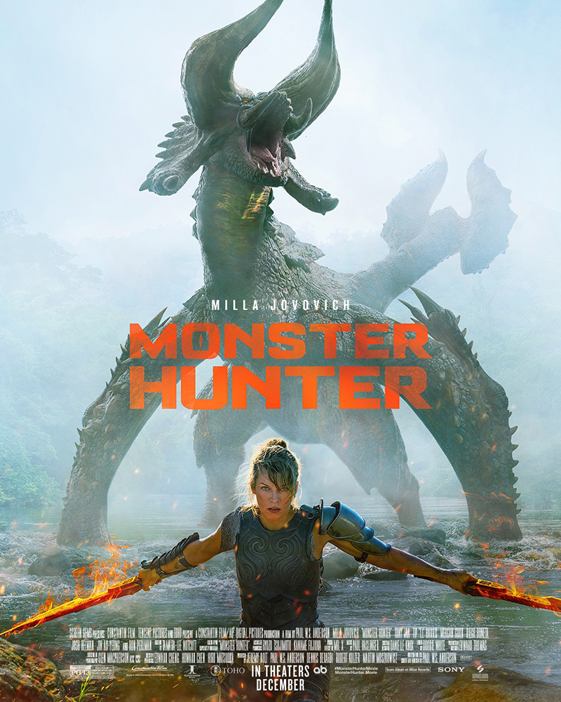 Monster Hunter poster octubre