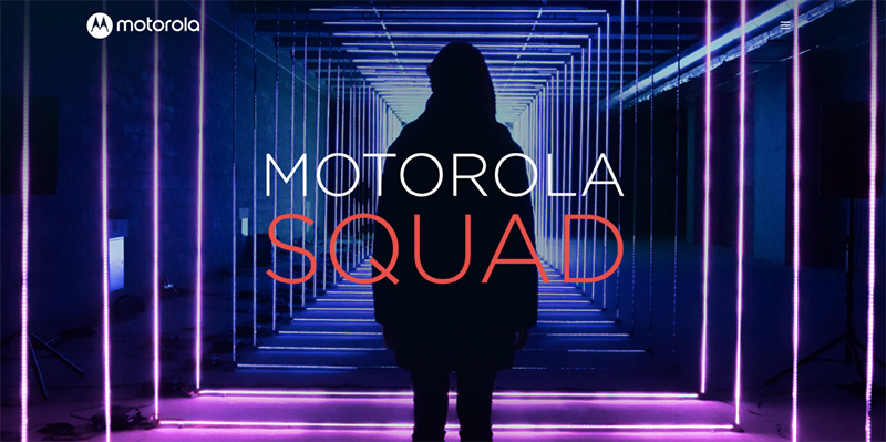 Motorola Squad busca a los mejores creadores de contenido