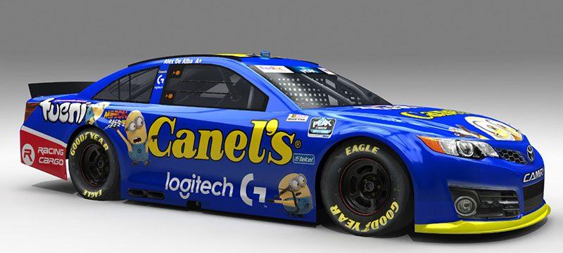 NASCAR TEAM GP Racing Logitech G