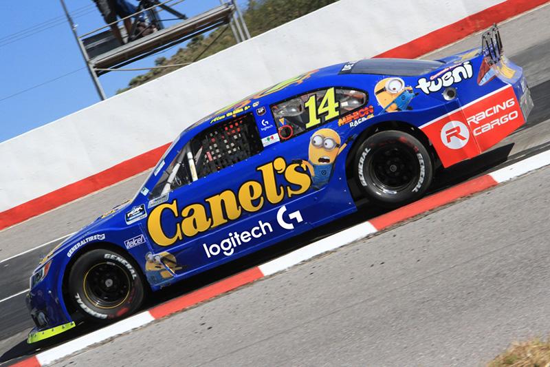 NASCAR TEAM GP Racing Logitech G logo