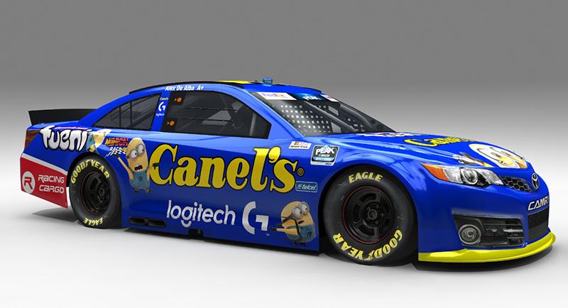 El equipo NASCAR TEAM GP Racing tiene el apoyo de Logitech G