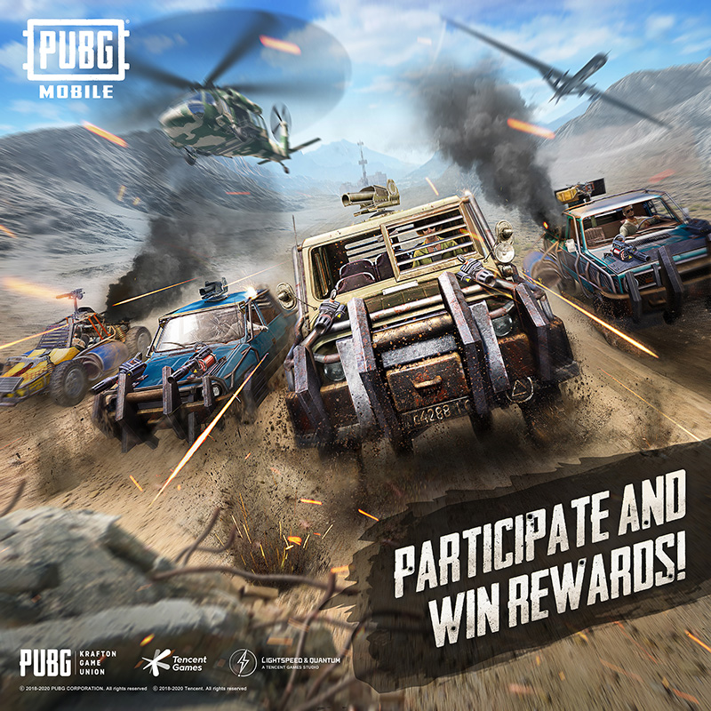 PUBG MOBILE Payload 2.0 eventos