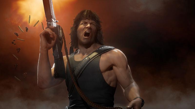 Rambo se une a Robocop y Terminator en Mortal Kombat 11