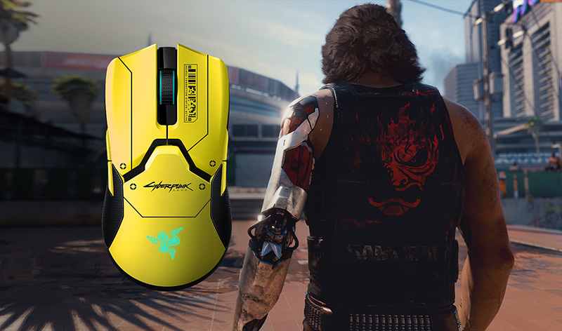 Razer Viper Ultimate Cyberpunk 2077 Edition precio