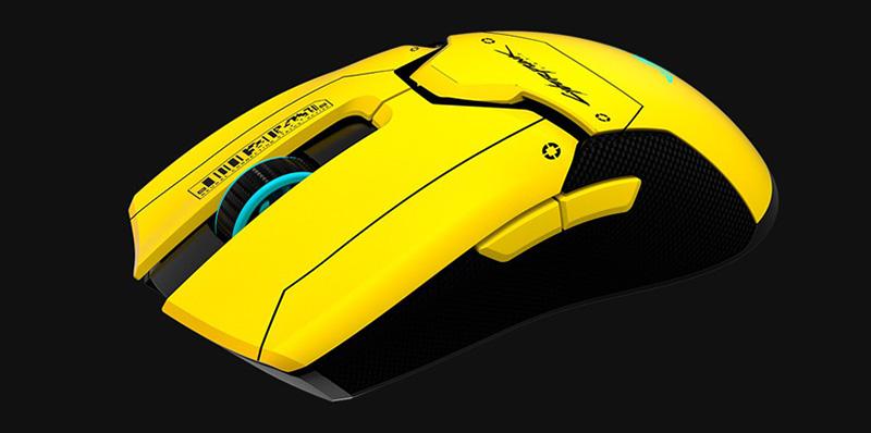 Así es el nuevo Razer Viper Ultimate Cyberpunk 2077 Edition