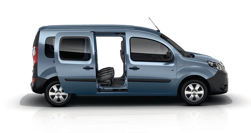 Renault Kangoo Z.E puerta banca
