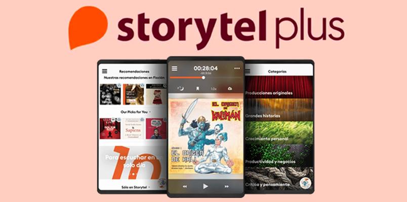Storytel Plus
