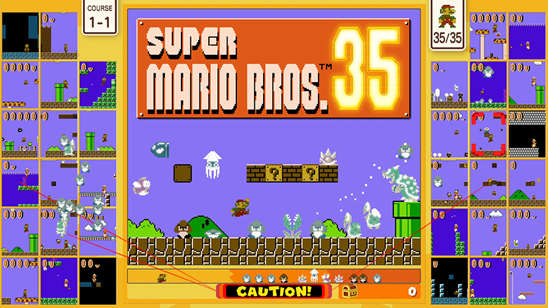 Super Mario Bros. 35, el Battle Royale gratuito de Nintendo